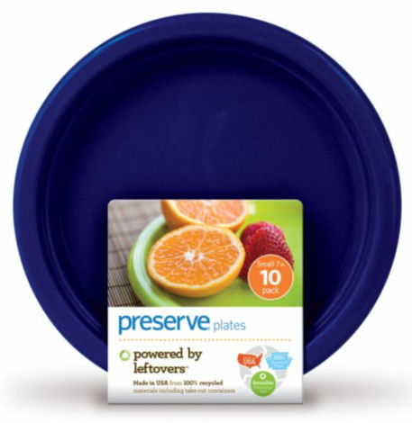 Plates: On the Go Tableware Midnight Blue Plateware Small 7'' - 10 count: K