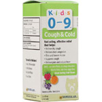 Homeolab Kids Relief Cough & Cold, Caramel Flavored 3.4 fl oz Homeopathic Medicines for Kids 2+ years: K