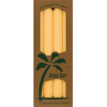 Aloha Bay Palm Wax Candle Cream Unscented 9'' Tapers 4 pack: K