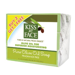 Kiss My Face Olive Oil Bar Soap Pure Olive Oil 3 (4 oz) pack: K