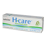 Nelsons Homeopathy Topical Products H+ Care Hemorrhoid Cream 1 oz.: K