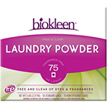 Biokleen Laundry Products Laundry Powder, Free & Clear 10 lbs. (150 HE loads): K