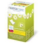 Natracare Panty Liners with Organic Cotton Cover, Normal 18 count - 95% Bio-degradable Non-Chlorine Bleached: K