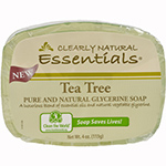 Clearly Natural Natural Glycerine Bar Soap Tea Tree 4 oz.: K