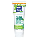Kiss My Face Oral Care Triple Action Fluoride-Free, Cool Mint 9 oz. Toothpastes 4.1 oz: K