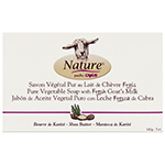 Nature by Canus Pure Vegetable Soap with Fresh Goats Milk Shea Butter Bar Soap 5 oz: K