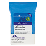 Derma E Hydrating Facial Wipes 25 count: K