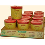 Aloha Bay Palm Wax Candle Money, Red Chakra Votive Candle 12 pack: K