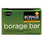 ShiKai Borage Dry Skin Therapy Borage Bar Soap 4.5 oz. Body Care: K