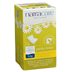 Natracare Panty Liner Long 16 count - 95% Bio-degradable Non-Chlorine Bleached: K