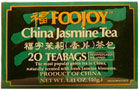 Foojoy China Jasmine Tea (Lu Cha) 20 teabags: V (Special Order)
