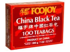 Foojoy China Black Teabags 100 teabags (7 oz / 200 gram): V (Special Order)