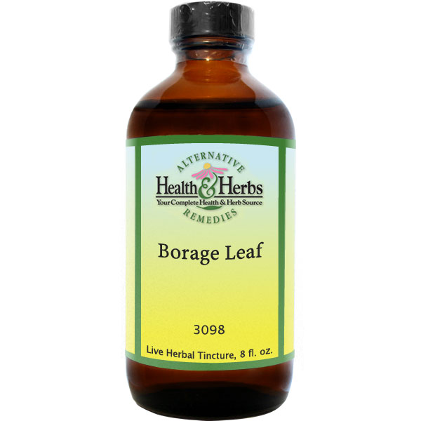 Borage Leaf Non-Alcoholic Extract (Borago officinalis) 8 fl oz: HH