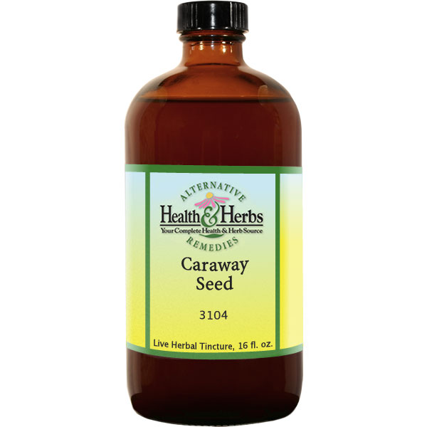 Caraway Seed Non-Alcoholic Extract (Carum carvi) 16 fl oz: HH