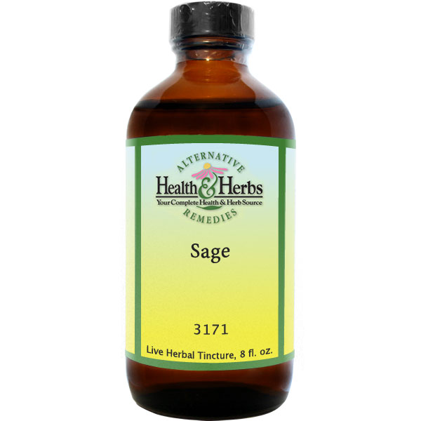 Sage Leaf Extract (Salvia officinalis) 8 fl oz: HH