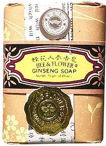 Ginseng Traditional Chinese Bar Soap with Vegetable Base 3 oz: K