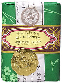 Jasmine Traditional Chinese Bar Soap with Vegetable Base 4.4 oz - 4 count box: K