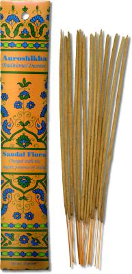Sandal Flora Traditional Indian Incense 10 Grams: K