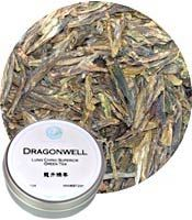 Dragonwell / Lung Ching - Superior Green Tea 1 oz tin: V (Special Order)