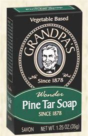 Pine Tar Individual Size Bar Soap 1.25 oz: K