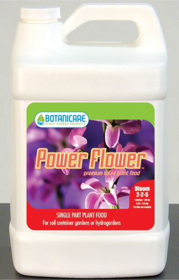 Power Flower Advanced Bio Organic Plant Food 5 Gallon 55 Gal