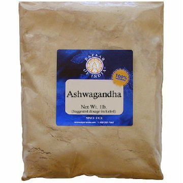 Ashwagandha Root Powder Wildcrafted (Withania somnifera) 1 lb: B