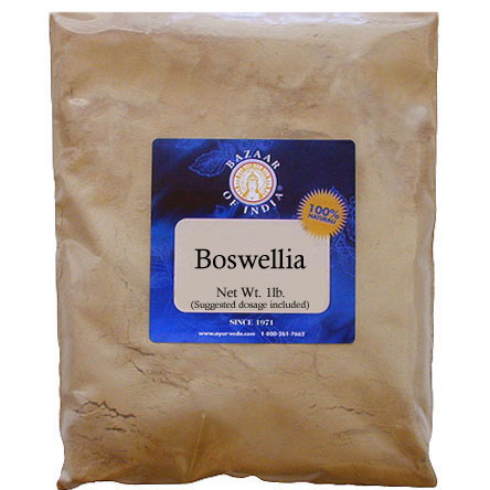 Boswellia Herb Powder (Boswellia serrata) 8 oz: B