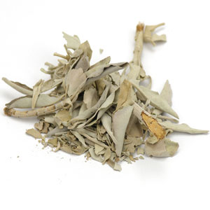 Sage Leaf, White whole, (25 lbs earns 15% refund) 1 lb: C