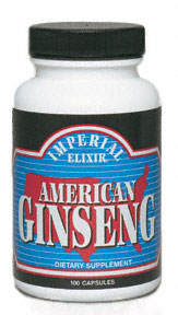 American Ginseng 50/500 mg capsules: C